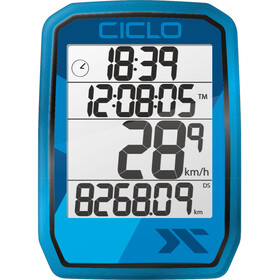 Ciclosport Protos 205 Fietscomputer, blauw